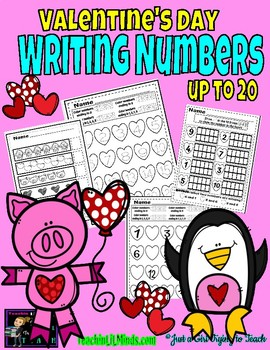 Writing Numbers up to 20 || Worksheets