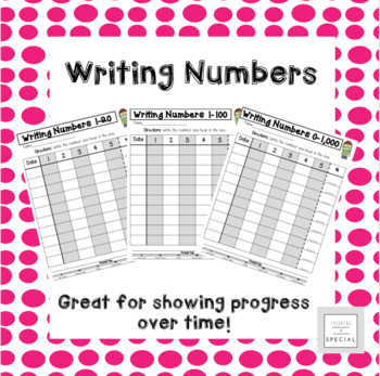 Writing Numerals Data Collection