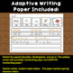 Writing:  Ocean Sea Animals Cut and Write Word/Picture Sentences