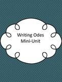 Writing Odes Mini-Unit