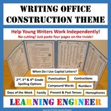 2nd Grade Writing Office, 3rd Grade Writing Office, 4th Gr