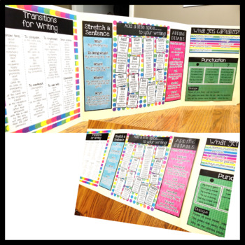 Writing Office Resource Pages  Upper Elementary *great for SPED*