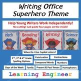 2nd Grade Writing Office, 3rd Grade Writing Office, 4th Grade Writing