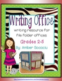 Writing Mini-Office for Writing Workshop