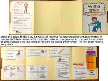 Writing Offices {First Grade}