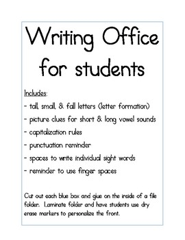 Writing Offices for Students