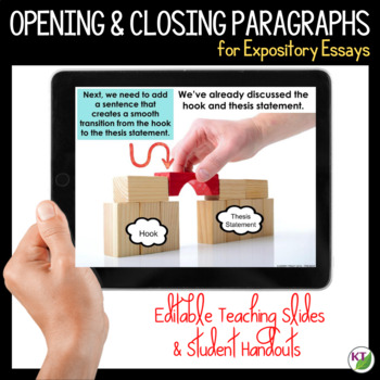 Writing Opening and Closing Paragraphs for Expository Essays