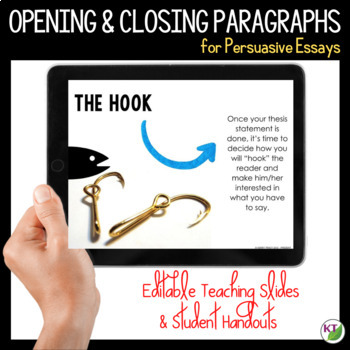Writing Opening and Closing Paragraphs for Persuasive Essays