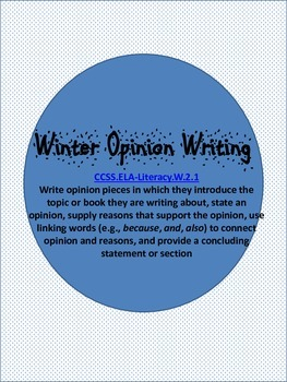 Writing Opinions
