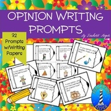 Writing Opinions in the Primary Grades