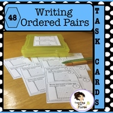 Writing Ordered Pairs Task Cards and Walk About Activity