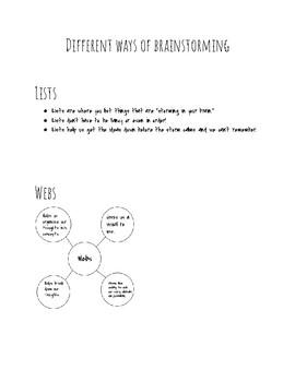 Writing Organizational Strategies