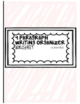 Writing Organizer