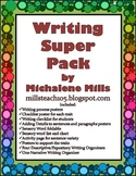 Writing Organizer & Skills Mega Pack for Descriptive Expos