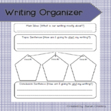 Writing Organizer (Top - Down Topic Web)