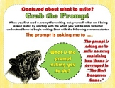 Writing Organizer - Unpack the Prompt - Grab the Prompt