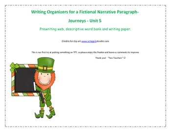 Writing Organizer for Fictional Narrative