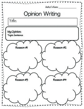 Writing Organizers and Outlines