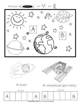 Writing Out In Space- A 3D Adventure (Common Core)