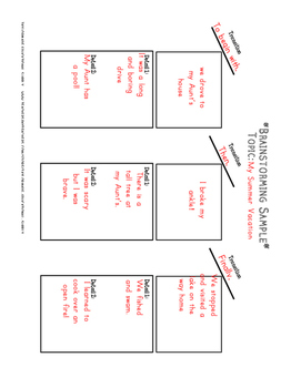 Differentiated Writing Outlines and Templates for All Writing Types