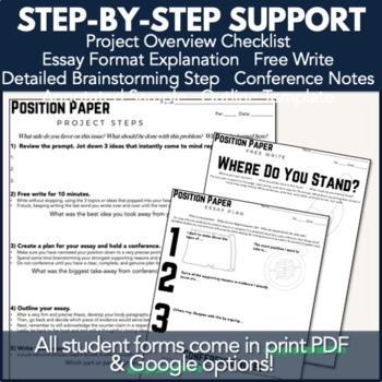 Writing PBL Project: Position Paper Essay & Research