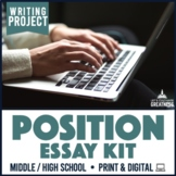 Position Paper Essay Research Project Print & Digital