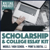 3-Part Writing Project: College Scholarships Essay Contests and Op-Ed Essays