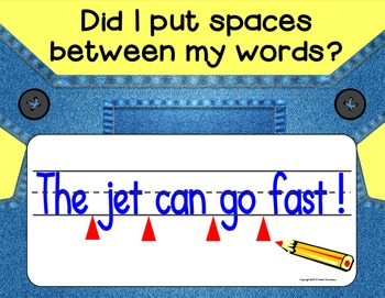 Writing POSTERS for Writing Sentences - Minion Style