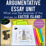 Argumentative Writing with texts, Cornell notes & INB activities!