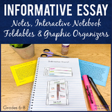 Informative Explanatory Essay Writing with texts,Cornell notes+INB activities