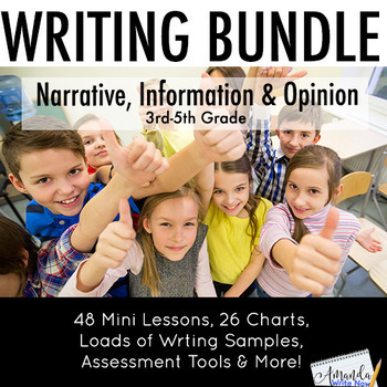 Writing Workshop Mini Lessons for the Entire Year