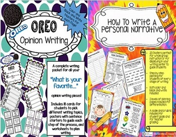 Writing Pack- Complete Lessons for Narrative, Nonfiction, Opinion, Summary