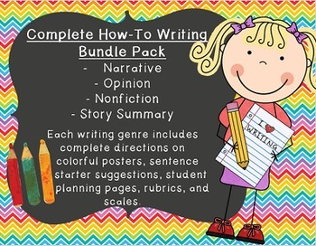 Writing Pack- Complete Lessons for Narrative, Nonfiction,