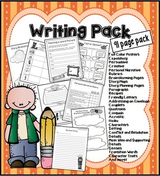 Writing Pack: Everything You Need!