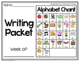 Writing Packet FREEBIE
