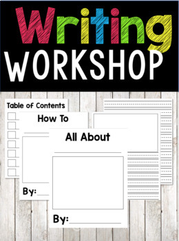 Title Pages and Lined Writing Pages {FREEBIE}