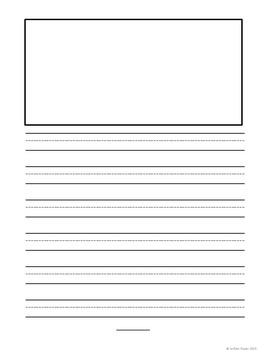 Blank Writing Template Pages Create-Your-Own Writing Booklets