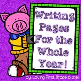 Writing for the Whole Year! Holiday Writing Pages