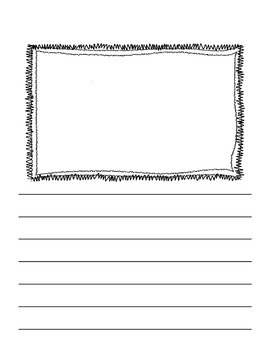 Writing Pages with Frames for Pictures and Lines! {Pack Two}