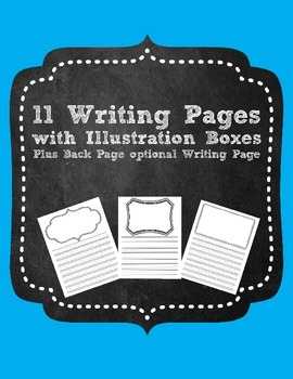 Writing Pages with Illustration Boxes