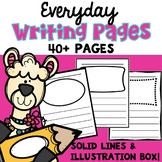 Writing Pages with Picture Boxes