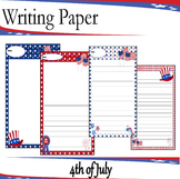 Writing Paper : 4th of July : Standard Lines