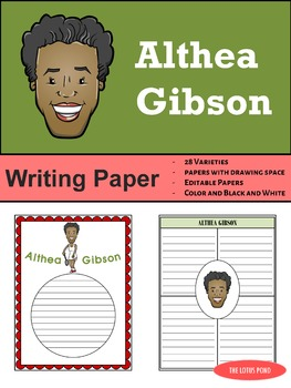 Writing Paper : Althea Gibson