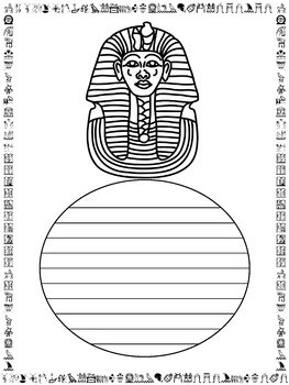 Writing Paper : Ancient Egypt: Standard Lines