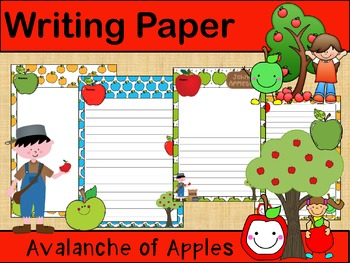 Writing Paper : Avalanche of Apples :: Standard Lines