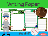 Writing Paper : Baseball : Standard Lines