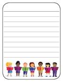 Writing Paper - Kids