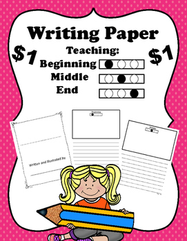 Writing Paper:  Beginning, Middle and End
