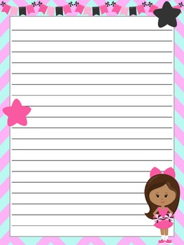 Writing Paper : Cheer On!!! : Standard Lines
