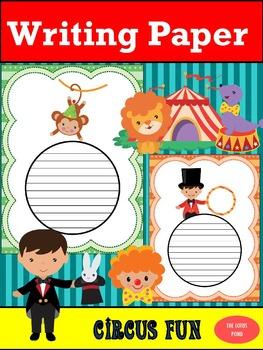 Writing Paper : Circus Fun